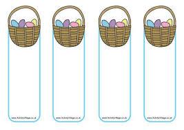 blank easter baskets easter basket bookmarks blank for your own message owen stuff