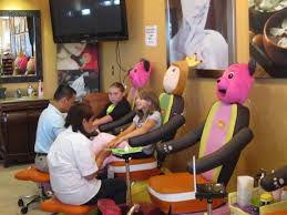 buzz on over to u201cmy bella spa u201d in ballantyne for a mani pedi