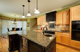 maple kitchen ideas maple kitchen cabinets with granite countertops of how to beautify