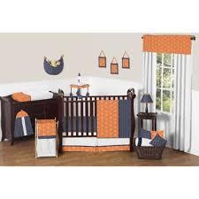 Orange Crib Bedding Buy Blue And Orange Nursery Bedding From Bed Bath Beyond