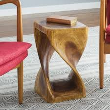 power of books sculptural glass topped side table end side tables modern contemporary designs allmodern