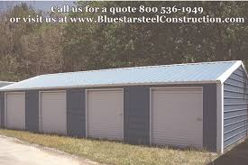 3 Car Garages Low Cost Garages Bluestar Steel Buildings
