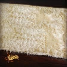 Faux Fur Sheepskin Rug Fur Accents Shaggy Sheepskin Rug Faux Fur Fur Accents Original