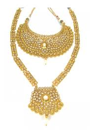 indian necklace set images Indian polki bridal jewellery sets 85154 sd complete bridal jpg