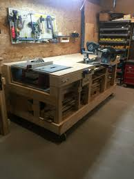 Tool Bench Plans Work Bench Diy Exclusive Home Design