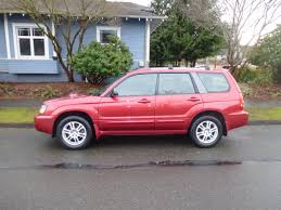 red subaru forester 2005 forester xt awd auto sales