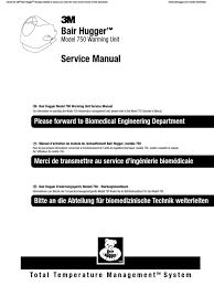 bair hugger model 750 service manual english electrical