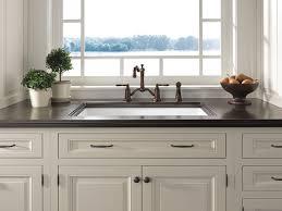 brizo faucets kitchen two handle bridge kitchen faucet with spray 62536lf rb tresa