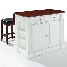 drop leaf kitchen islands amberly drop leaf kitchen island with 2 upholstered stools jcpenney
