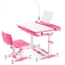 Kids Study Desk by Best Desk Height Adjustable Children Desks Chairs Ergonomic