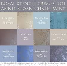 the best stencil paint now in 8 new metallic colors royal design