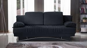 black convertible sofa fantasy talin black convertible sofa bed by sunset