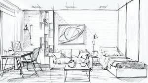 interior sketches interior design sketch drawing app lankan info