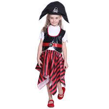 Boys Girls Kids Pirate Costume Book Week Halloween Cosplay Fancy
