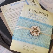 sles of wedding invitations passport style wedding invitation casadebormela