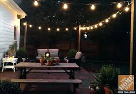 how to hang outdoor string lights on patio string lights patio ideas outdoor hanging ball lighted balls light