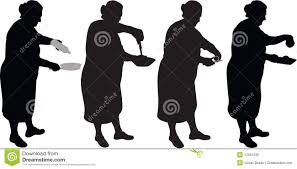 woman cooking silhouette clipart panda free clipart images