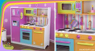 cuisine kidkraft grande cuisine de luxe aux couleurs vives kidkraft cuisine