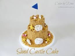 the 25 best sand castle cakes ideas on pinterest castle cakes