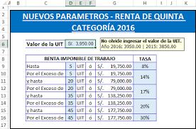 como calcular el sueldo neto mexico 2016 plantilla en excel para el nuevo calculo del impuesto a la renta de