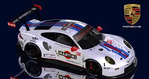 porsche 911 png 2017 martini porsche 911 rsr skins racedepartment