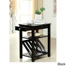 Accent Table With Drawer Awesome Accent Table With Storage Furniture Of America Corin