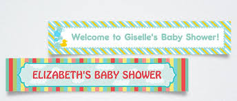 baby shower banners baby shower banners party city