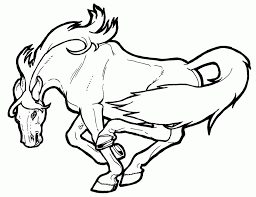 mustang horse coloring pages kids coloring