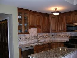 Kitchen Countertops And Backsplash Pictures Custom Kitchen Design Ideas Cook Top On Island Custom Natural