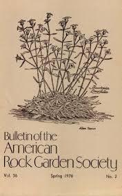 Rock Garden Society September October 1947 American Rock Garden Society