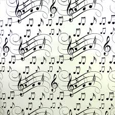 themed wrapping paper wavy stave musical gifts online