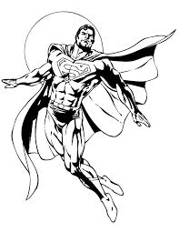 coloring picture superman superman coloring pages picture 7 u2013