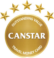 travel money cards 2016 award canstar