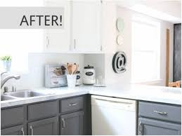 how to redo your kitchen cabinets yourself 15 diy kitchen cabinet makeovers before after photos of