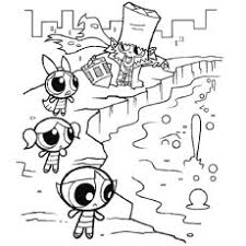 15 free printable powerpuff girls coloring pages