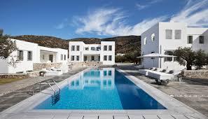 villa oceana sifnos bright blue villas
