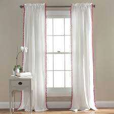 Pink Nursery Curtains by Home Interior Makeovers And Decoration Ideas Pictures Nursery Ba