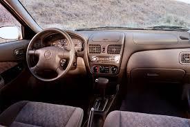 Nissan Maxima 2000 Interior 2000 06 Nissan Sentra Consumer Guide Auto
