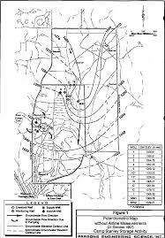 Surface Map November 1998 Quarterly Gw Monitoring Report Figure 1