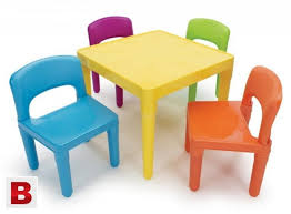 kids furniture table and chairs tot tutors kids table and 4 chair set plastic karachi