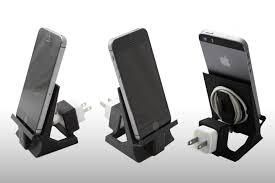 Ipad In Wall Mount Docking Station Iphone 5 6 Or Ipad Mini Stand With Speaker Cut Out 3d Model 3d