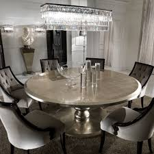 italian dining room furniture large round italian champagne leaf dining table and chairs set