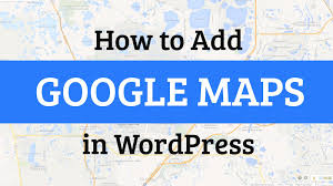 Google Maps Orlando by How To Add Google Maps In Wordpress Youtube