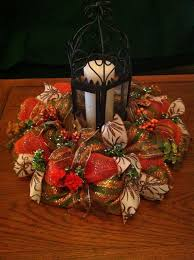 Decorating Christmas Wreaths With Mesh by 29 Best Deco Mesh Centerpiece Images On Pinterest Deco Mesh