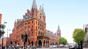 top 10 london hotels near london st pancras station united