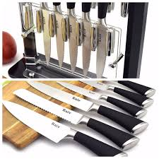 xx kitchen knives amazon com knife set by kniv 11 stainless steel chef