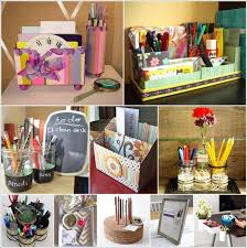Desk Organization Diy 10 Awesome Diy Desk Organizers For Your Home