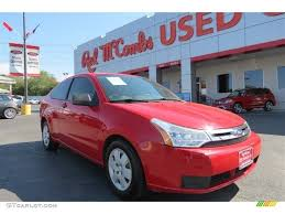 2008 vermillion red ford focus s coupe 92590520 gtcarlot com