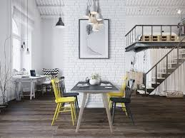 charming industrial lofts modern ikea furniture