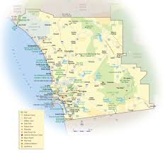 San Diego Attractions Map by San Diego Travel Map U2022 Mapsof Net